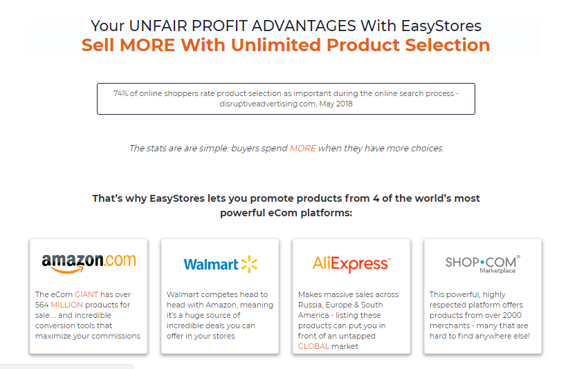 EasyStores Pro Builder Software By Ben Carroll
