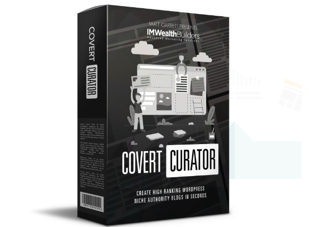 Covert Curator PRO WP Theme by IM Wealth Builders