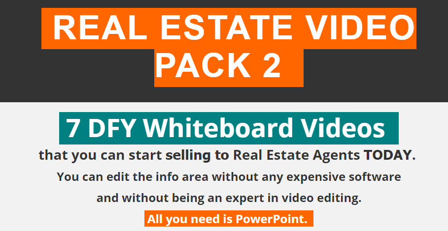 Real Estate Video Pack 2 by WhiteboardVideoBox