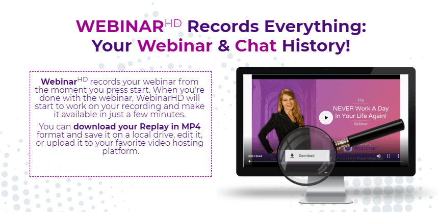 WebinarHD Commercial With Live Broadcasting & Dynamic Layouts