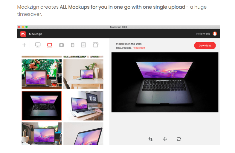 Mockzign Mockup Lifetime Software & OTO Upsell by Youzign Review
