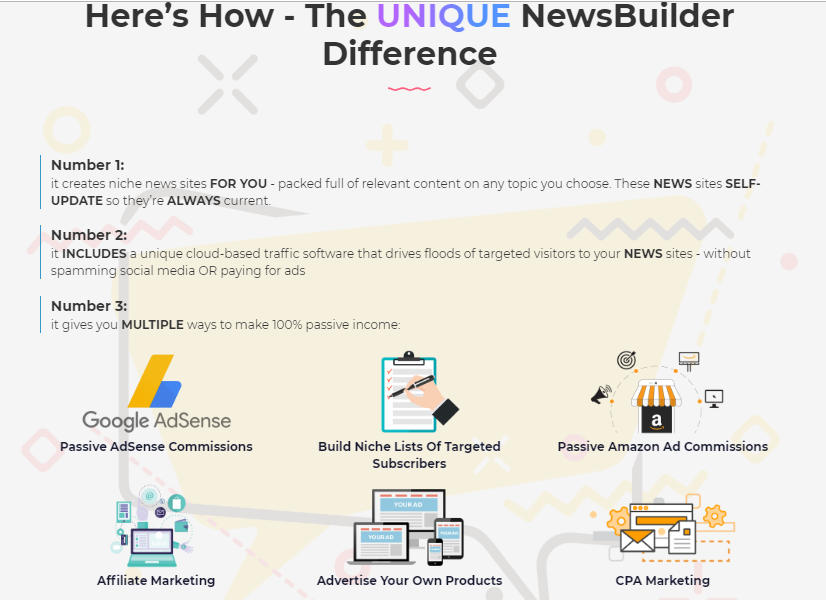 NewsBuilder Software System & OTO Upgrade by Ben Carrol