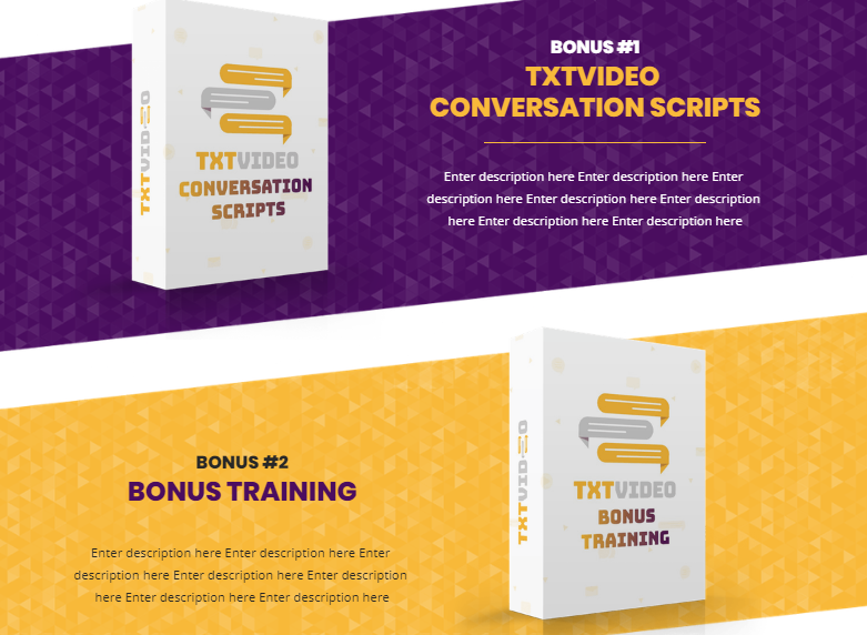 TXT Video Pro Commercial Software by Jamie Ohler