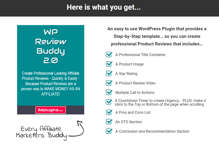 WP Review Buddy 2.0 Unlimited WSO