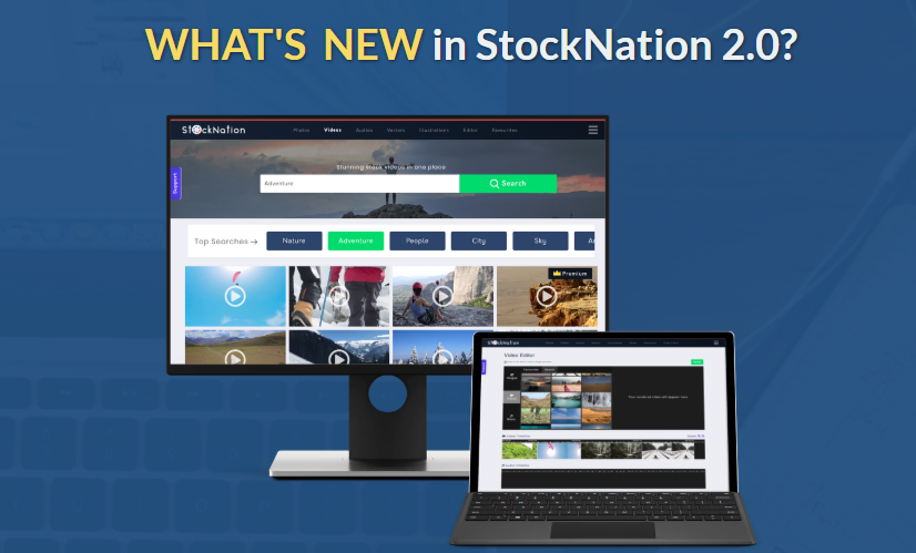 Stocknation 3.0 OTO Upsell Review By Gaurav Madaan - Best Huge Video Stock of 30000+ Premium Full HD Video Collections with Royalty Free and Inbuilt Video Editor with Commercial Rights and Free Bonus 500+ Motion Backgrounds & 2,500+ HD Videos And Webinar with Devbrat Sharma on How to make Hollywood Style Videos using StockNation