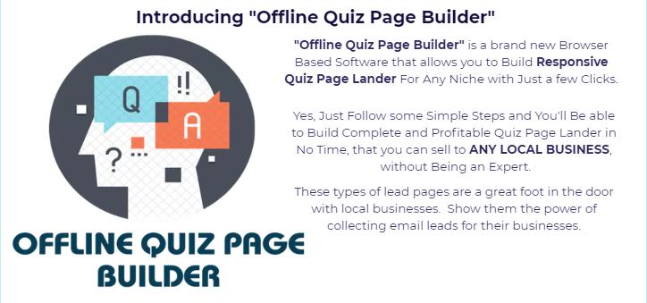 Offline Quiz Page Builder WSO by David Cisheros
