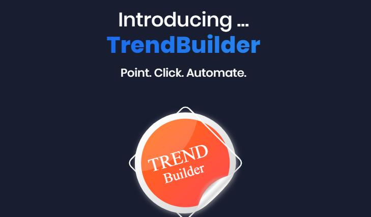 TrendBuilder Pro Software & OTO Upsell by Gee Sanghera