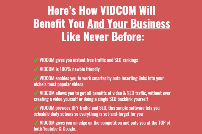 VidCom Software WSO System & OTO by Yogesh Agarwal