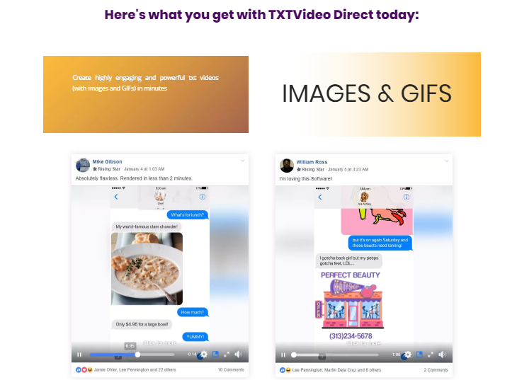 TXTVideo Direct Commercial Software & OTO by Jamie Ohler