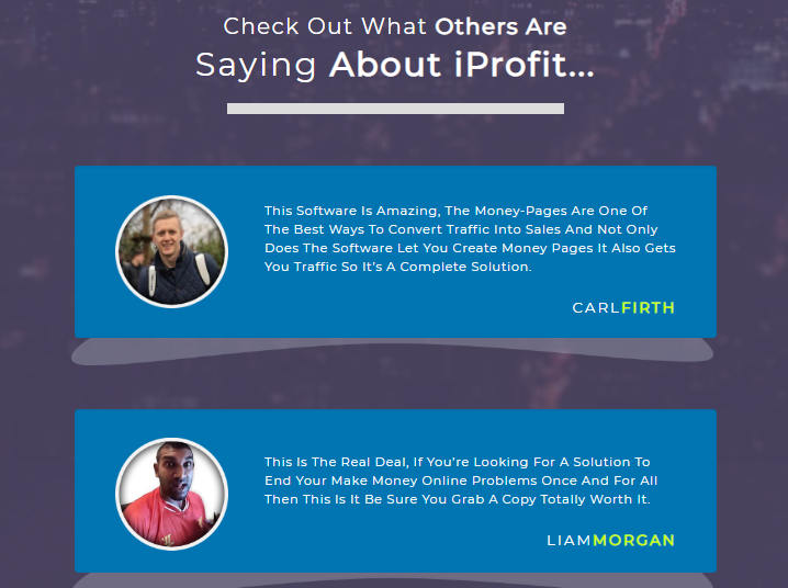 IProfit Pro Software Platinum Edition & OTO by Billy Darr