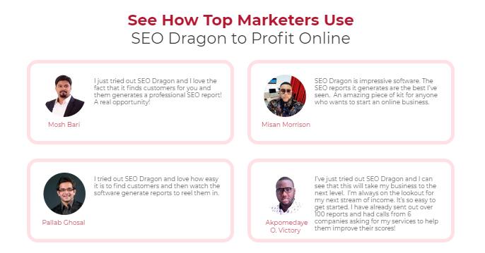 SEO Dragon Pro Software & OTO by Firas Alameh