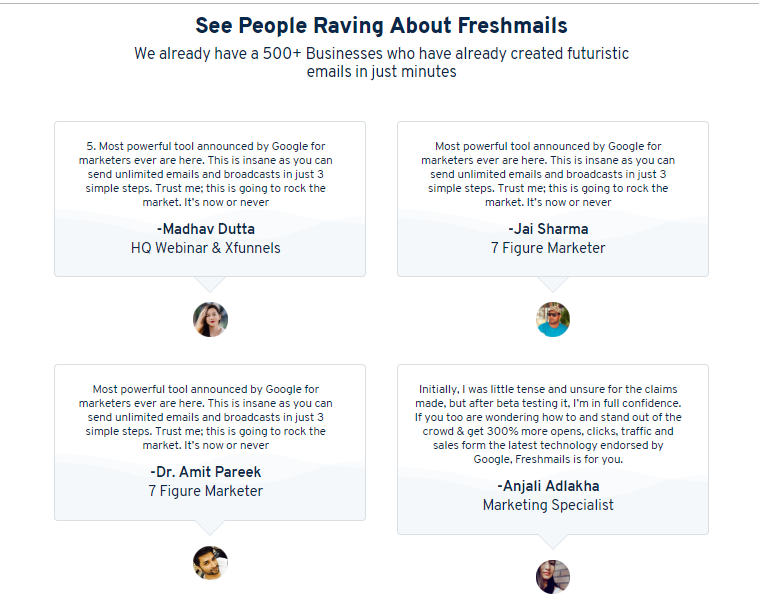 FreshMail Commercial Plan System & OTO by Ankit Mehta
