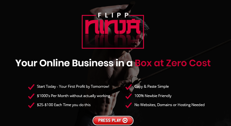 Flipp Ninja Training System & OTO by Art Flair