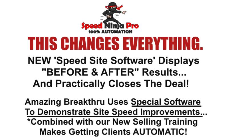 Speed Ninja Pro Software System & OTO by Mo Taqi