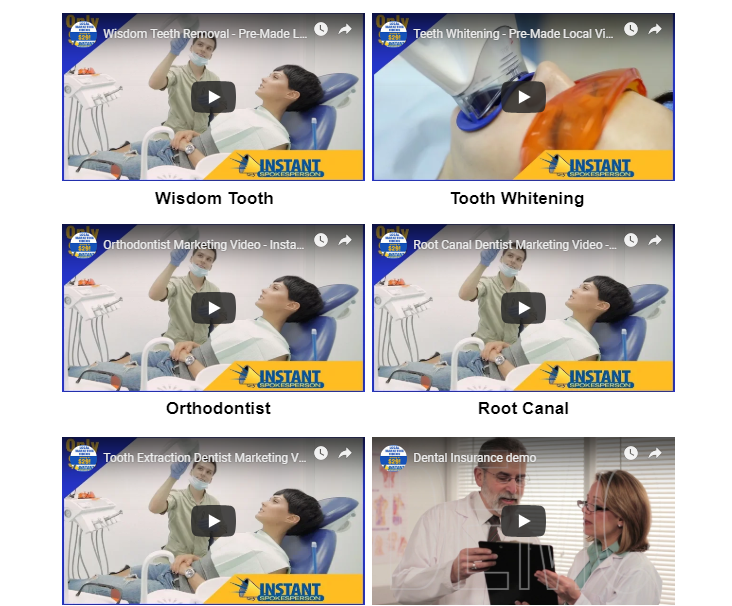 Instant Spokesperson Dental Videos Bundle by Ray Lane