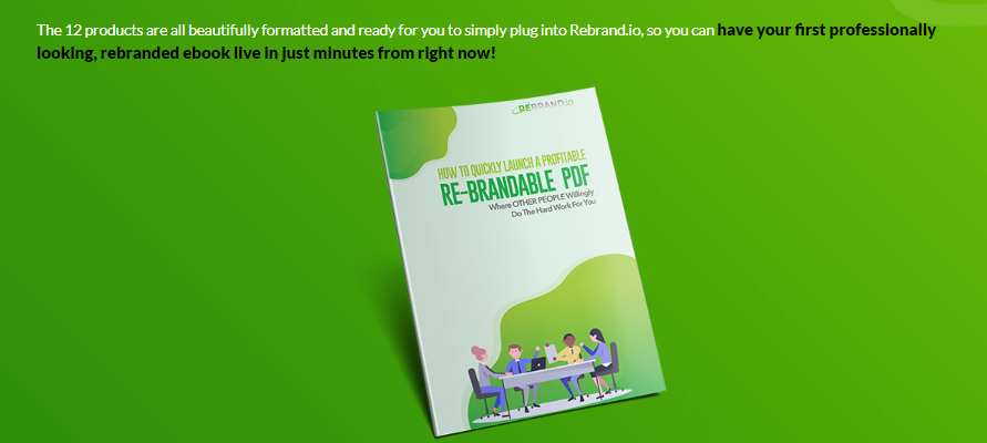 Rebrand.io Pro Software System & OTO by Nick James