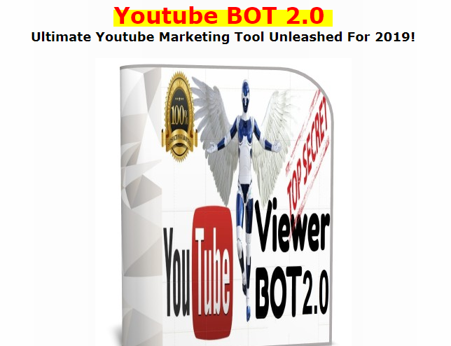 Youtube Bot 2.0 Software by Leon Tran