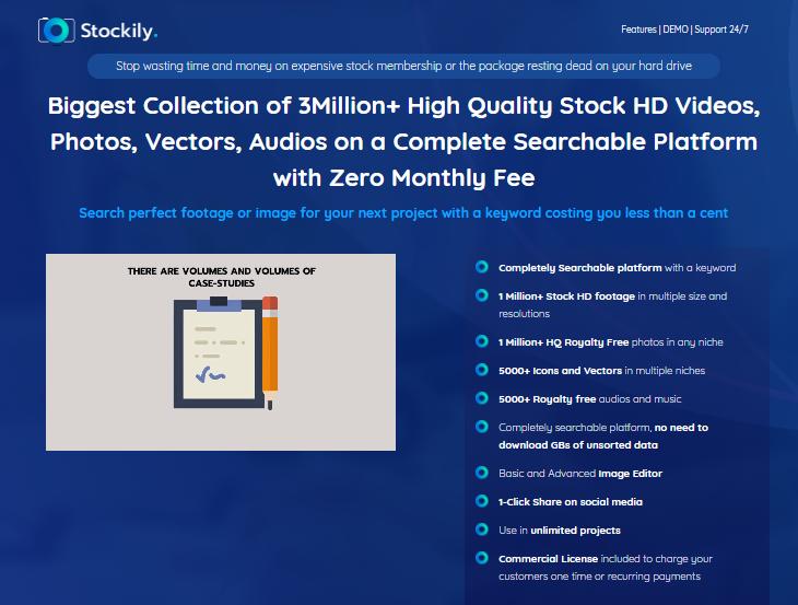 Stockily Commercial Stock Assets & OTO by Daniel Adetunji