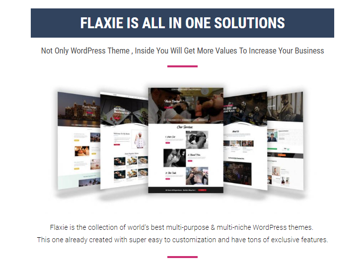 Flaxie Agency WordPress Theme & OTO by Fachrul Stream Review