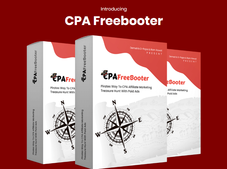CPA Freebooter Training System & OTO by Demetris Dpapa