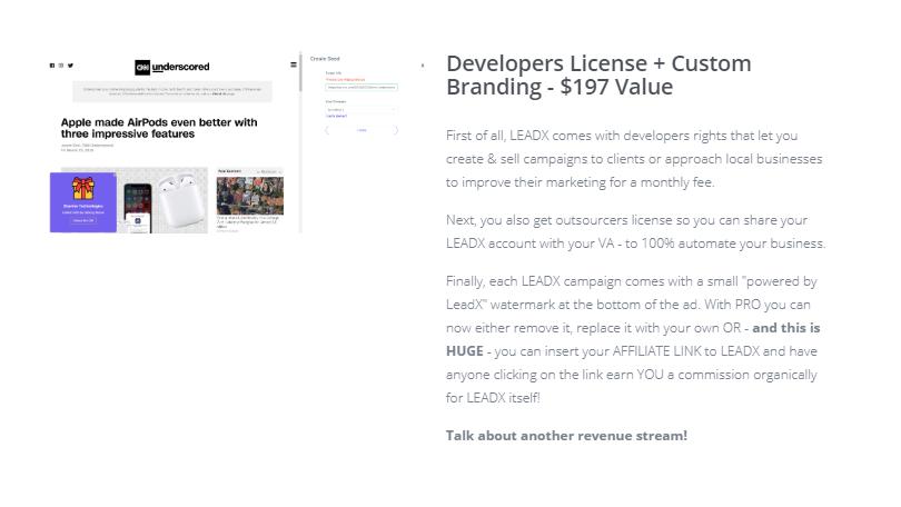 LeadX Pro Edition Upgrade OTO by by Radu Hahaianu