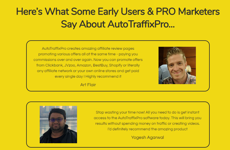AutoTraffixPro App Software & OTO by Mosh Bari