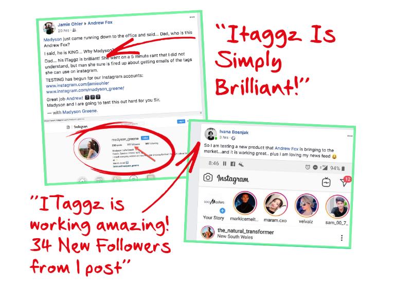 ITaggz Instagram Traffic Software by Chris Fox