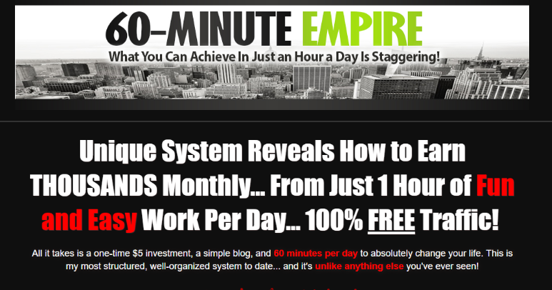 60 Minute Empire Training System by Lee Murray