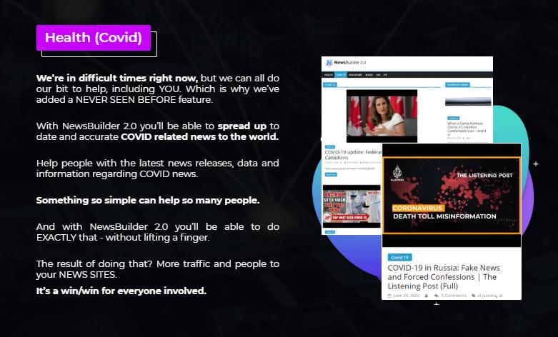 NewsBuilder 2.0 Pro Plugin Software & OTO by Gee Sanghera