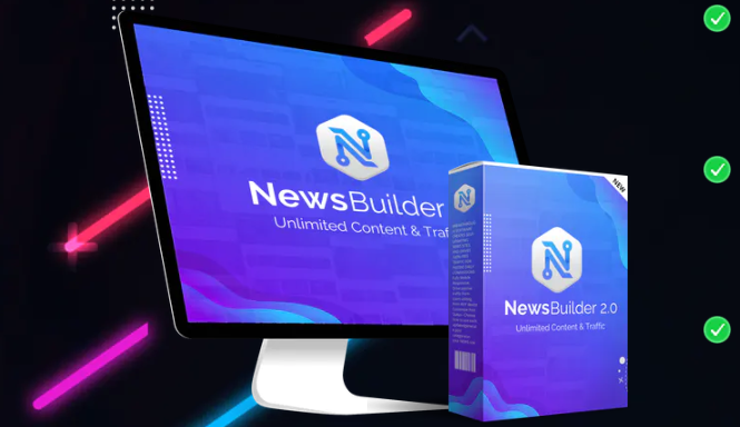 NewsBuilder 2.0 Software & OTO by Ben Carrol