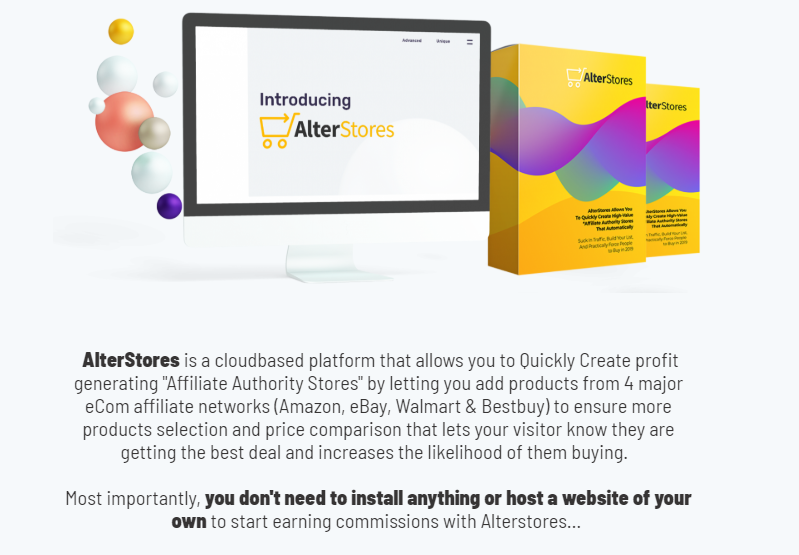 AlterStores eCom Software & Training System by Victory Akpos