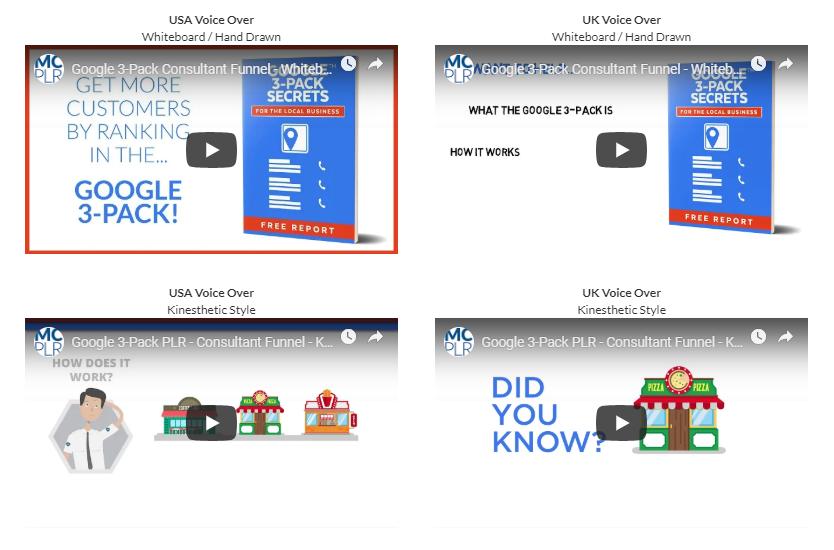 Google 3-Pack Secrets PLR Bundle WSO by PDLaughlin