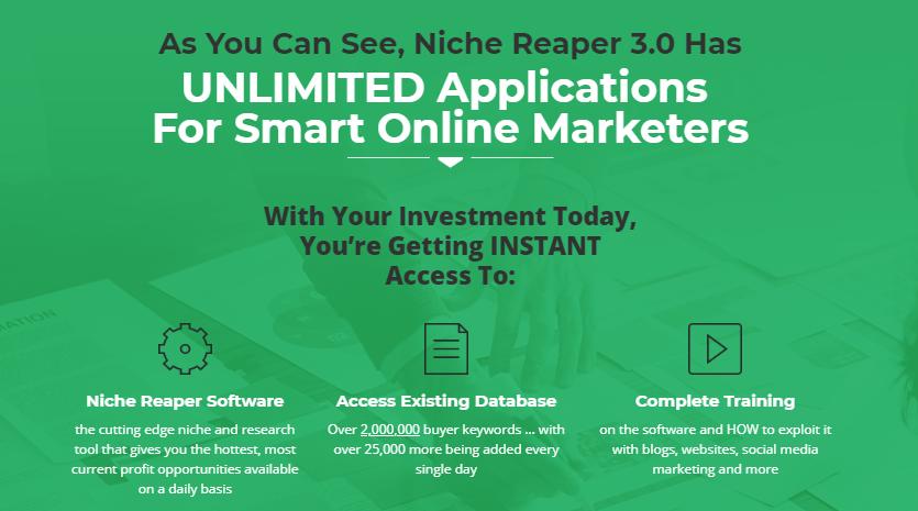 Niche Reaper 3.0 Pro Keyword Software by Matt Garrett