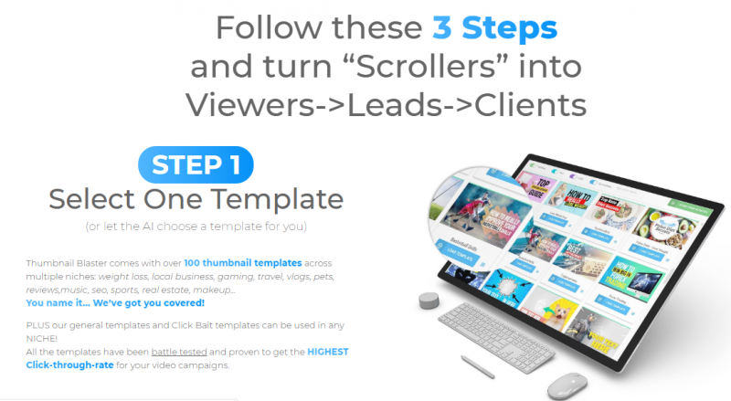 Thumbnail Blaster Pro OTO Upsell Software by Vlad-Stoica Review - Best Video Thumbnail Creator Software to Create Attention-Grabbing & Click Pulling Thumbnails For Any Video with Artificial Intellegence Technology that perfect for Youtube & Video Marketing to get you more views, more traffic and more exposure