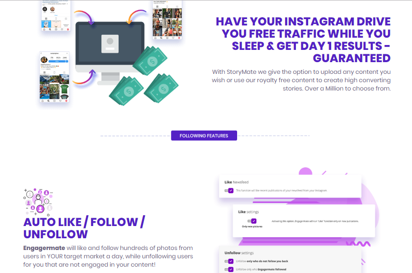 Engagermate Pro Instagram Software & Upsell by Luke Maguire