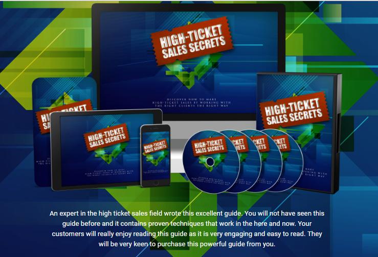 High-Ticket Sales Secrets PLR by Sajan Elanthoor