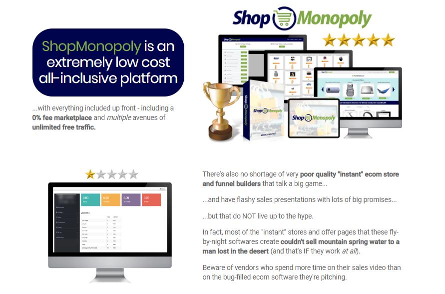 ShopMonopoly eCom Platform by BryanWinters