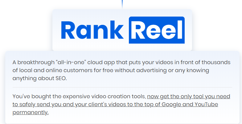RankReel Pro Video Ranking Software by Abhi Dwivedi