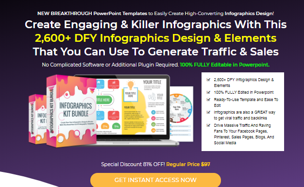 Infographics Kit Bundle Template by Deni Iskandar