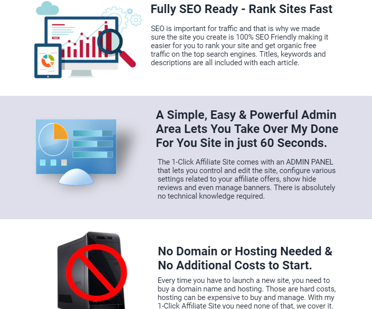 1-Click Affiliate Site Pro Software & OTO by Ankur Shukla – Best