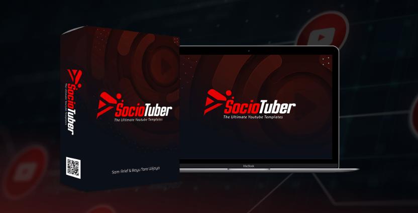 SocioTuber PRO Youtube Templates & OTO by Bayu Tara