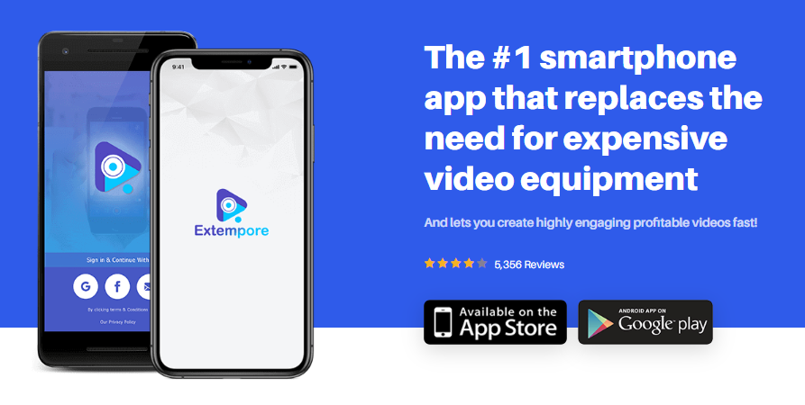 Extempore Teleprompter OTO Upsell App Software by Karthik