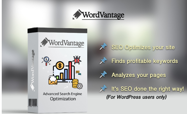 WordVantage SEO Plugin Software by Travon Henry