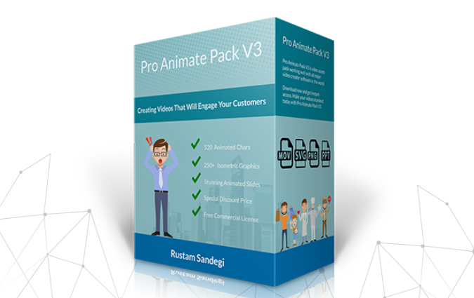 Pro Animate Pack V3 Series by Rustam Sandegi