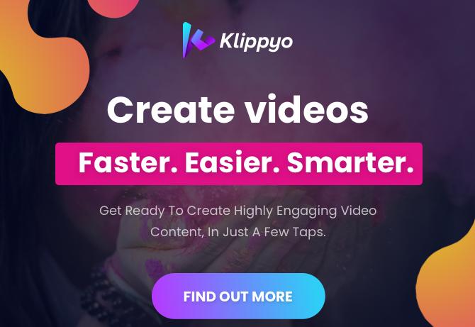 Klippyo Studio Smart Video App & OTO by Viddyoze Team