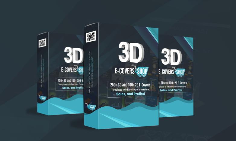 3D eCovers Shop Bundle Package & OTO