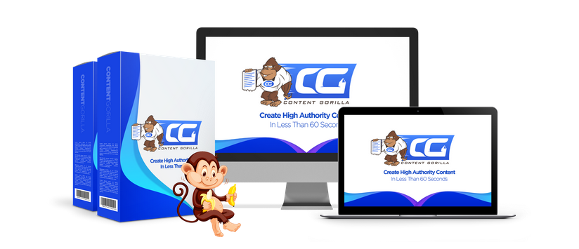 Content Gorilla OTO Upsell Software by Neil Napier