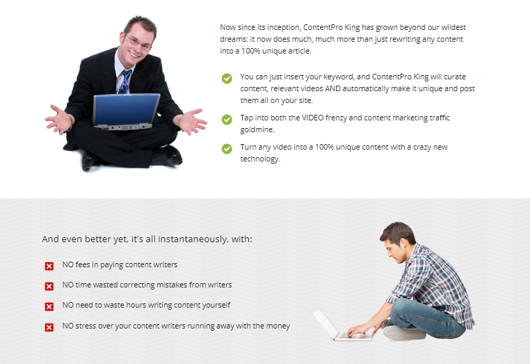 ContentPro King OTO Upsell Software