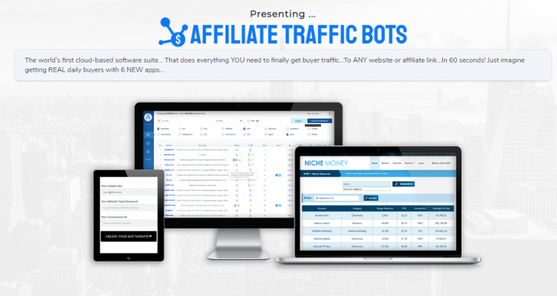 Affiliate Traffic Bots OTO Upsell Software by Rich Williams