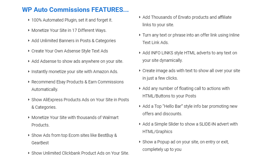 WP Auto Commissions Plugin OTO Upsell By Ankur Shukla